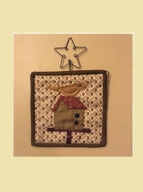 "6"" Blockheads Birdhouse kit w/hanger"