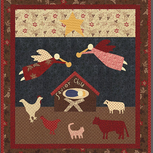 No Room at the Inn quilt pattern