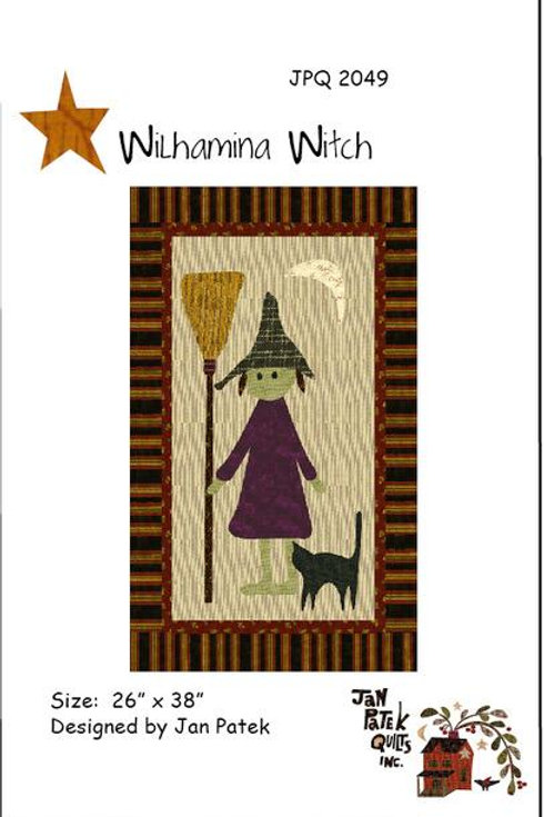 Wilhamina Witch pattern