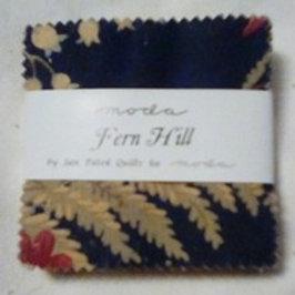 Fern Hill mini charm