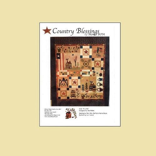 Country Blessings BOM pattern