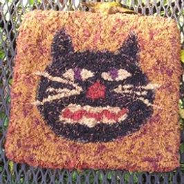 Black Cat Homespun Needlepunch Kit