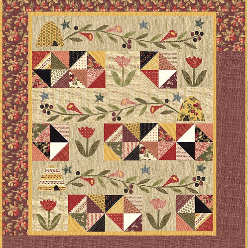 Tulips & Leaves pattern