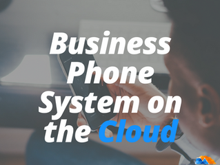 Your Small Business Phone System In The Cloud
