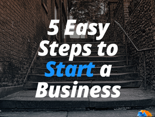 Start A Business In 5 Easy Steps