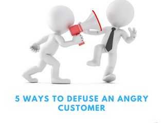5 Ways To Defuse An Angry Customer