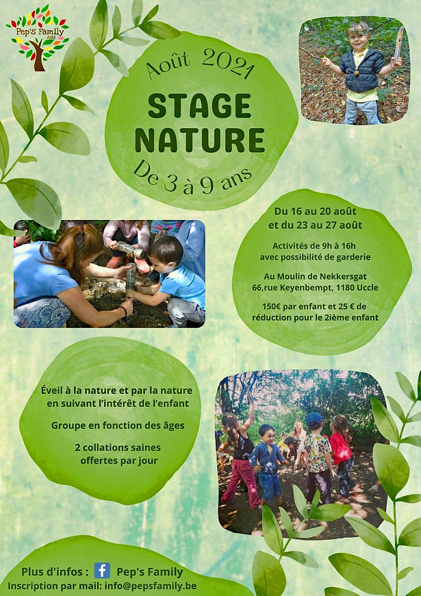 Stage nature Pep's family