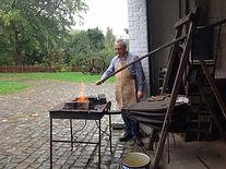 La forge à soufflet du moulin du Nekkersgat