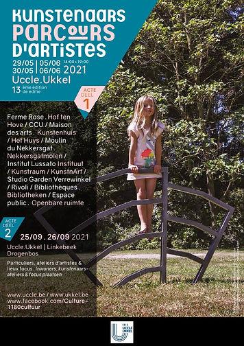 parcours d'artistes d'Uccle 2021