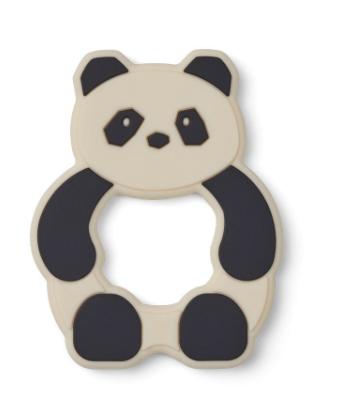 Liewood  Gerda Teether / Beissring - Panda creme de la creme