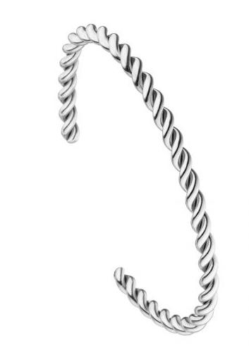 """Armreif braided """"Silber"""""""