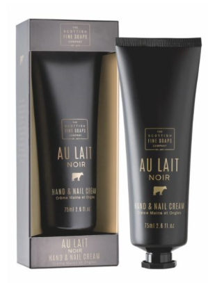 Scottish Fine Soaps Hand & Nail Cream Au Lait noir