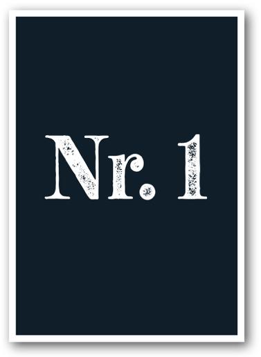 Grusskarte Nr. 1 - Nukaart