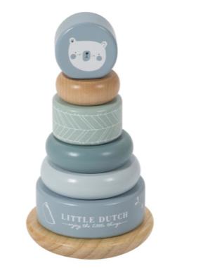 Little Dutch Stapelturm blau