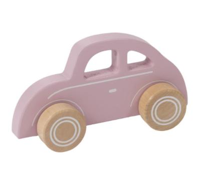 Little Dutch Holz Auto - pink