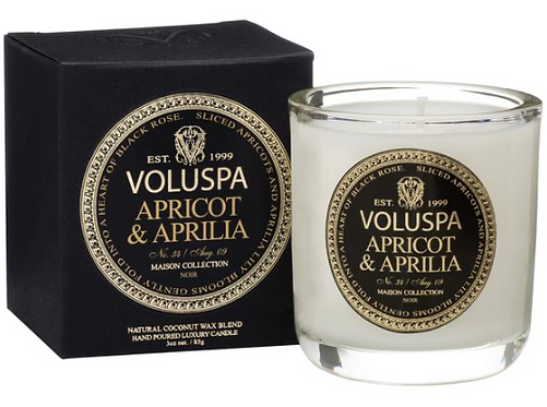 Duftkerze Voluspa Apricot & Aprilia 25h