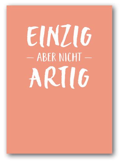 Grusskarte Einzig - Nukaart