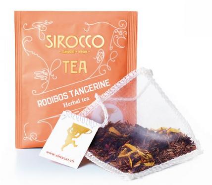 Sirocco Tee Bio-Rotbusch mit Tangerine