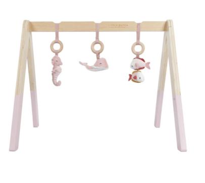 Little Dutch - Spieltrapez aus Holz - Ocean pink