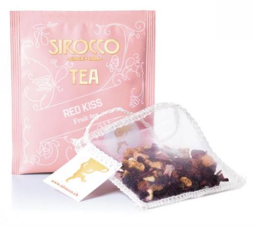 Sirocco Tee Bio-Red Kiss