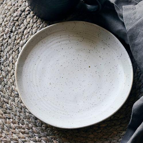 Kuchenteller, Pion, Grau/ weiß ∅ 16.5CM