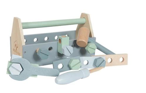 Little Dutch Holz Werkzeugkasten 20 - teilig