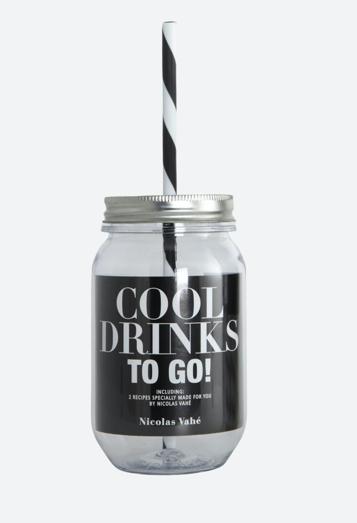 Trinkbecher Water Bottle w. Straw - Cool Drinks