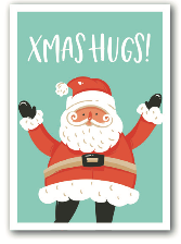 X-Mas Hugs - Nukaart