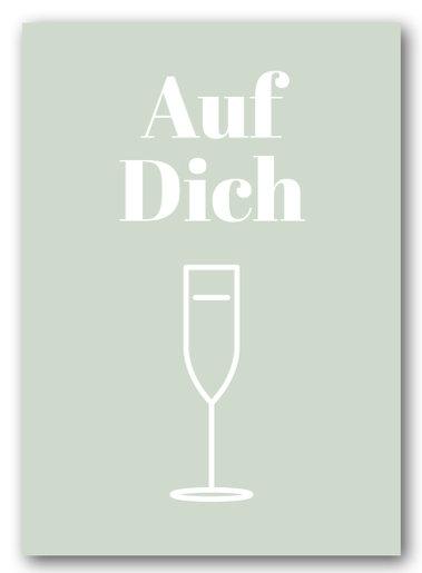 Grusskarte Nukaart Auf Dich - Nukaart
