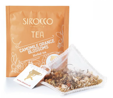 Sirocco Tee Bio-Camomile Orange Blossoms