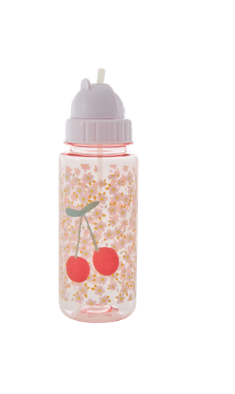 "Rice Kinder Trinkflasche ""Flower and Cherry"" pink"
