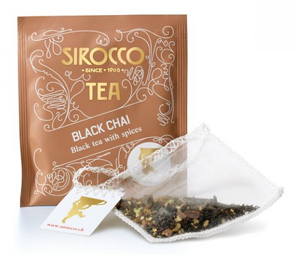 Sirocco Tee Bio-Black Chai