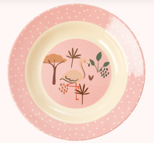 Rice -Plate Flamingo