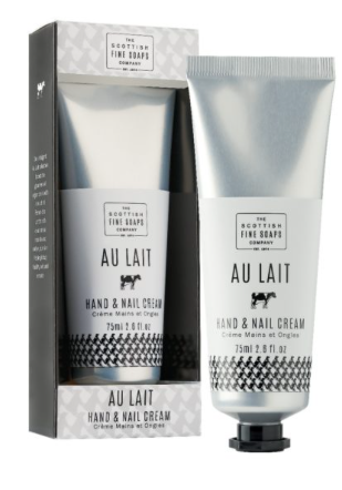 Scottish Fine Soaps Hand & Nail Cream Au Lait