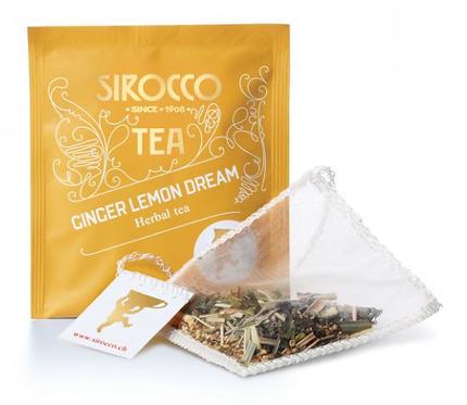 Sirocco Tee Bio-Ginger Lemon Dream