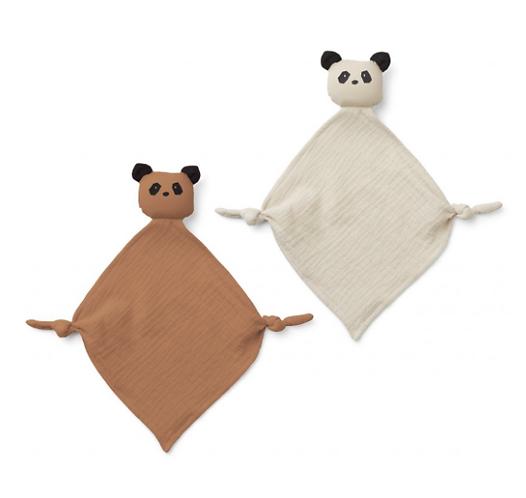 """Liewood """"Yoko Mini - Panda Tuscany rose"""" (2-er Set)"""