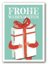 Frohe Weihnachten - Nukaart