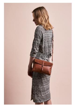 O My Bag - Ella Midi Wild Oak Soft Grain Leather