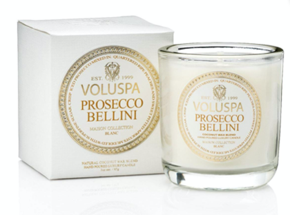 Duftkerze Voluspa Prosecco Bellini 25h