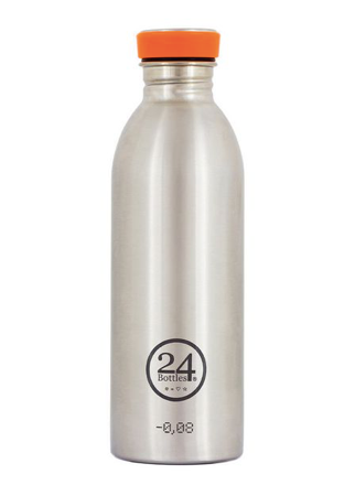 24 Bottles Trinkflasche Urban 500 ml Steel