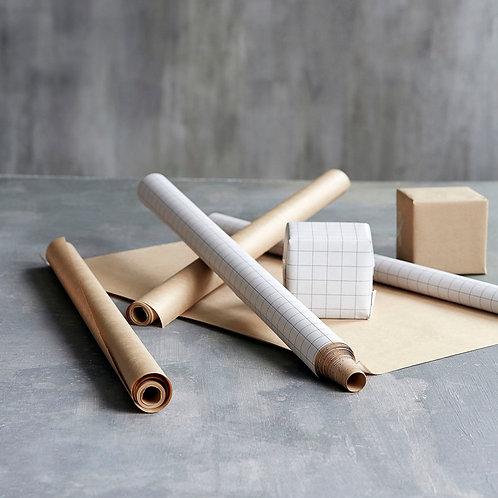 2 Geschenkpapier, Kraft - Monograph