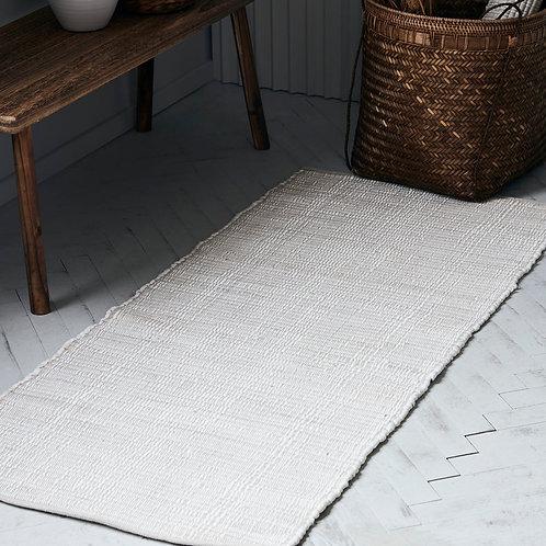 Teppich, Chindi, Weiß