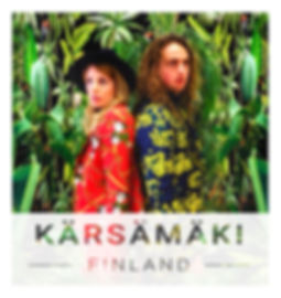 Artist profile Finland Anne Fehres and Luke Conroy
