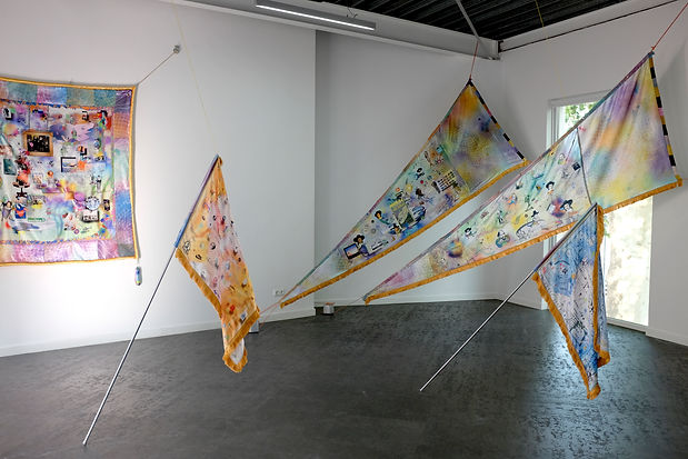 exhibition Tasman -Luke Conroy & Anne Fe