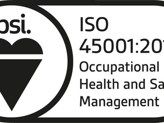 ISO45001:2018 - Kent PHK Scotland Ltd
