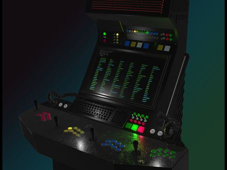 Retrocade 1979 - The Arcade Cabinet Inspired by Sci-fi of the 70's