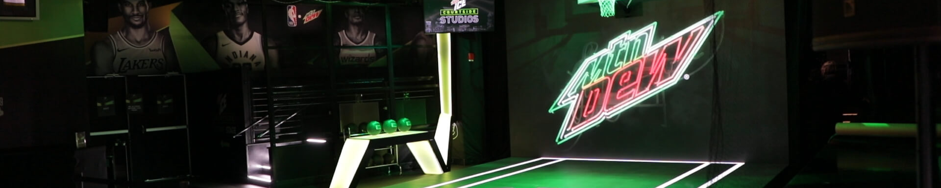 Mountain Dew Courtside Studios