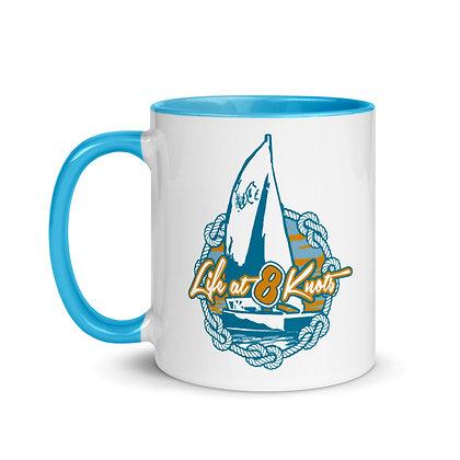 """""""Life at 8 Knots"""" Coffee Mug"""