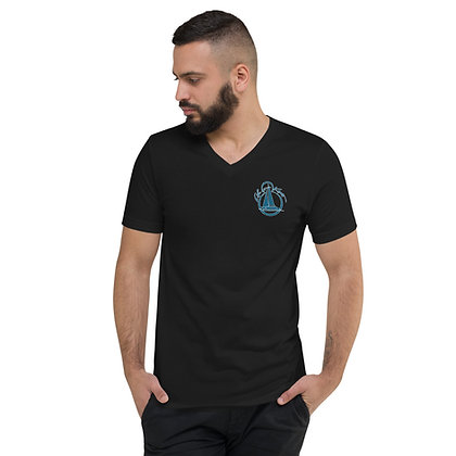 "Unisex  V-Neck ""Life at 8 Knots"" T-Shirt"