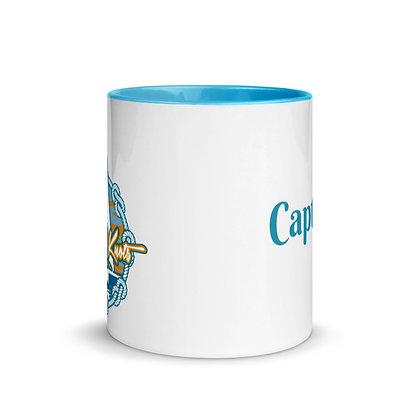 """Captain"" Coffee Mug in Blue!"